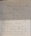 Annie Fellows Johnston to Ruth Clement, May 6, 1908