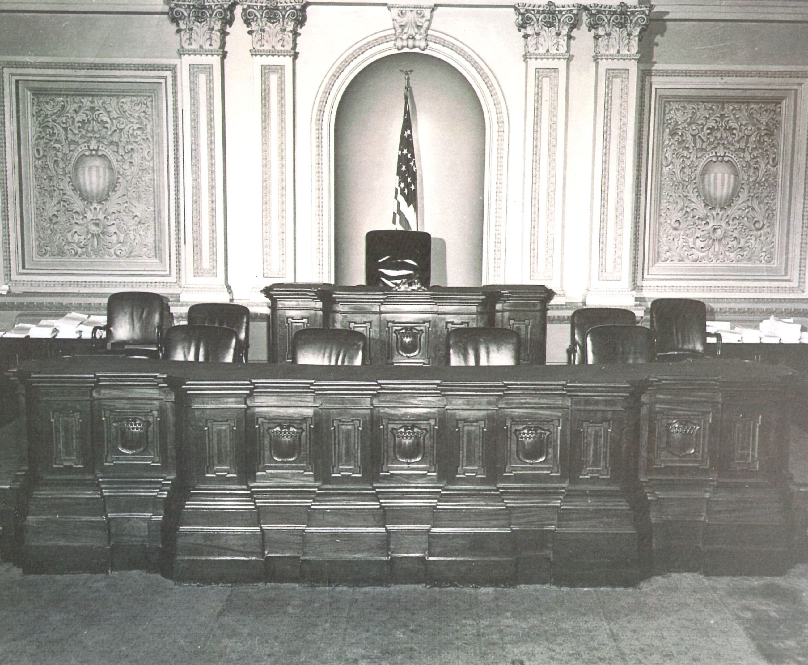 From D.C. to Kentucky:  The History of the U.S. Senate Clerk's Desk