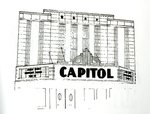 Capital Theater Drawing by Department of Interior and National Park Service
