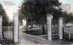 Entrance to Fairview Cemetery by Camilla Gerard Collection