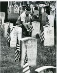 Fairview Cemetery on Memorial Day by Special Collections