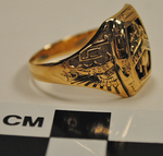 Western Kentucky State Teacher's College class ring right side by Herff Jones