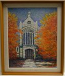 Christ Episcopal Church Painting by William Herman Lowe