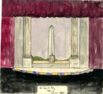 Set Design for Of Thee I Sing by WKU Archives