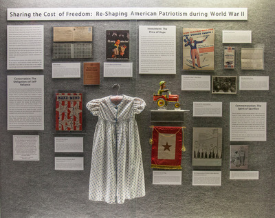 Sharing the Cost of Freedom:  Re-Shaping American Patriotism During World War II