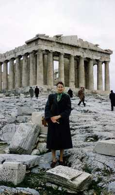 Evelyn Thurman in Athens, Greece (SC 2834)