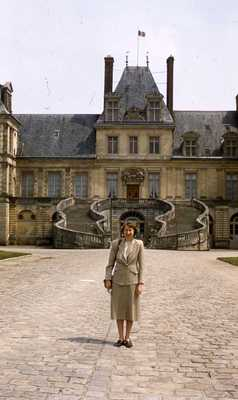 Evelyn Thurman in France (SC 2834)