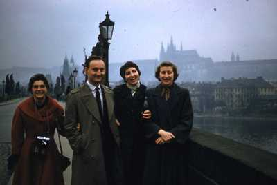 Evelyn Thurman in Prague, Czechoslovakia (SC 2834)
