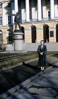 Evelyn Thurman in Leningrad, Russia (SC 2834)