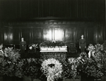 Henry Cherry Lying in State with Honor Guard