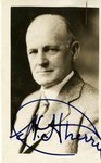 Autographed Photo of Henry Cherry by WKU Talisman