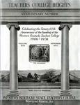 Teachers College Heights, Vol. XIII by Western Kentucky University