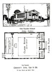 Rosenwald Community School Plan No. 1-A
