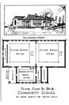 Rosenwald Two Teacher School Plan No. 20-A