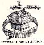 One Family Station - Great Settlement Area by Kentucky Historical Society
