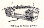 Two Family Station - Great Settlement Area by Kentucky Historical Society