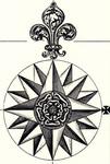 Compass Rose - British Empire in North America