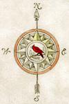 Compass Rose - Dark & Bloody Ground by Karl Smith