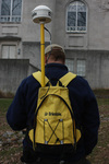 GNSS Receiver & Backpack by Trimble