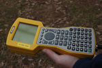 Handheld GNSS Unit by Trimble