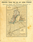Map Edmonson County Coal and Iron Company by Edmonson County Coal, Iron and Lumber Company