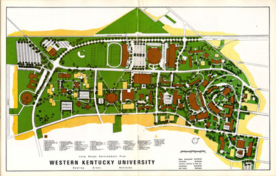 Northern Kentucky University Campus Map.Wku Urban Planning 2011 Finding Our Way Maps Mapmaking