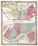 The City of Louisville, Kentucky & the City of New Orleans, Louisiana by Johnson & Browning
