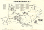The Great Settlement Area 1750-1800 by Kentucky Historical Society
