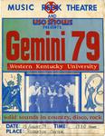 Gemini 79 Concert Poster