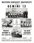 Gemini 15 Concert Broadside