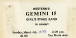 Gemini 15 Concert Ticket