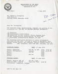 Gemini 75 Letter re: European Tour