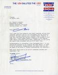 Gemini 75 Letter re: USO Show