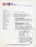 Gemini 77 Letter re: Caribbean Tour