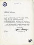 Gemini 77 Letter re: Certificate of Esteem