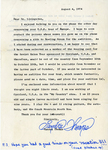 Gemini 75 Letter re: Auditions