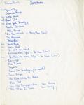 Gemini 14 Set List
