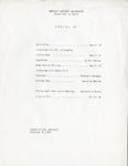 Gemini 14 Concert Program