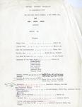 Gemini 14 Set List, Edited