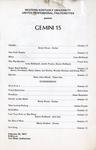 Gemini 15 Concert Program