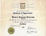 Gemini 14 Certificate of Appreciation
