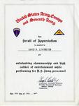 Gemini 75 Scroll of Appreciation