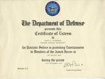 Gemini 79 Certificate of Esteem
