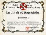 Gemini 79 Certificate of Appreciation