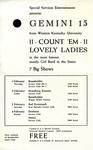 Gemini 15 European Tour Poster