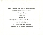 Gemini 15 Invitation