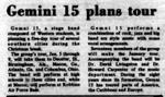 Gemini 15 Plans Tour