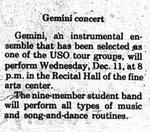 Gemini 75 Concert