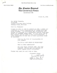 Correspondence re: Desegregation at Western Kentucky University by James Pope