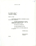 Correspondence re: Desegregation at Western Kentucky University by Kelly Thompson